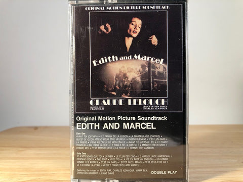 EDITH AND MARCEL - soundtrack - BRAND NEW CASSETTE TAPE