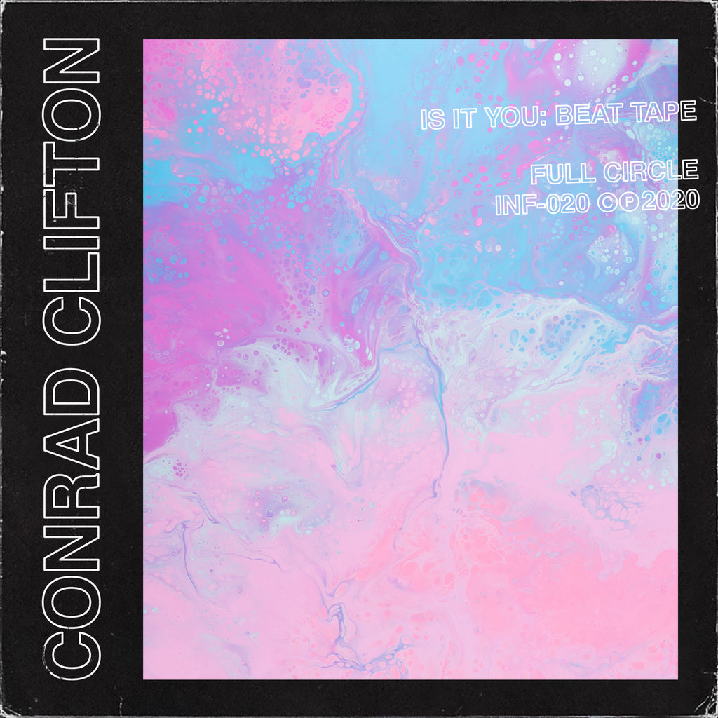 CONRAD CLIFTON - is it you: beat tape - BRAND NEW CASSETTE TAPE