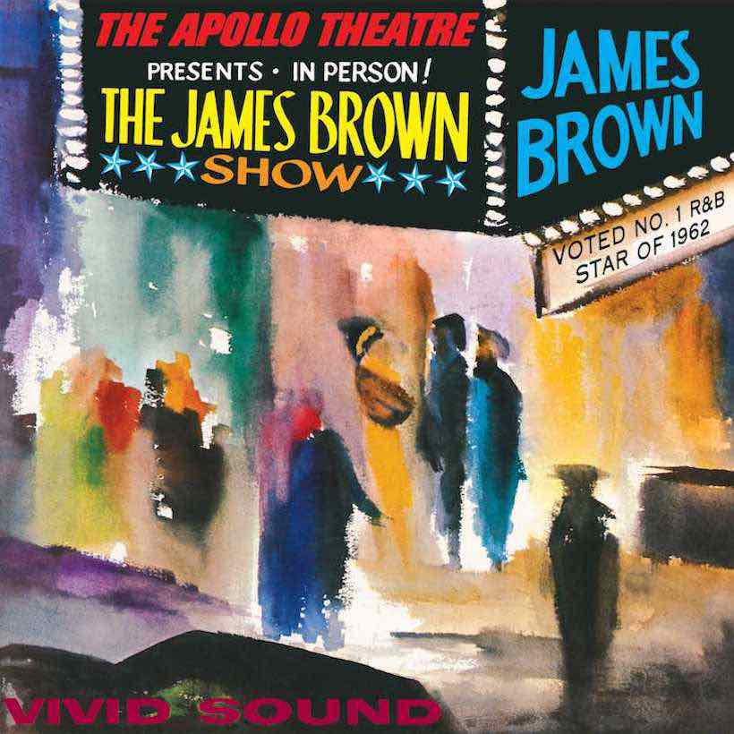 JAMES BROWN - live at the apollo - BRAND NEW CASSETTE TAPE