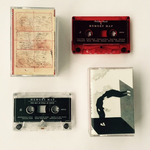 MEMORY MAP - discography DOUBLE ALBUM CASSETTE TAPE - BRAND NEW