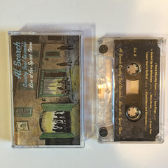 AL SCORCH AND THE COUNTRY SOUL ENSEMBLE - live at the spirit store - BRAND NEW CASSETTE TAPE