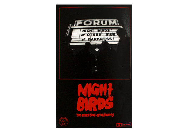 NIGHT BIRDS - the other side of darkness - BRAND NEW CASSETTE TAPE