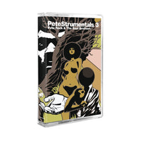 PETE ROCK - petestrumentals 3 - BRAND NEW CASSETTE TAPE