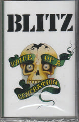 BLITZ - voice of a generation - BRAND NEW CASSETTE TAPE - punk