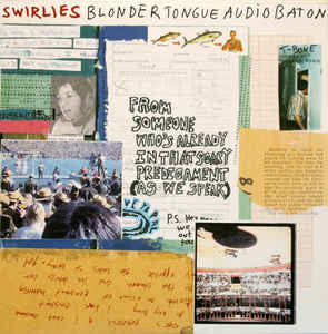 SWIRLIES - blonder tongue audio baton - BRAND NEW CASSETTE TAPE