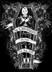 The Chronnibals ‎– Punk Till The End - BRAND NEW CASSETTE TAPE