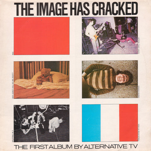 ALTERNATIVE TV - the image has cracked - BRAND NEW CASSETTE TAPE