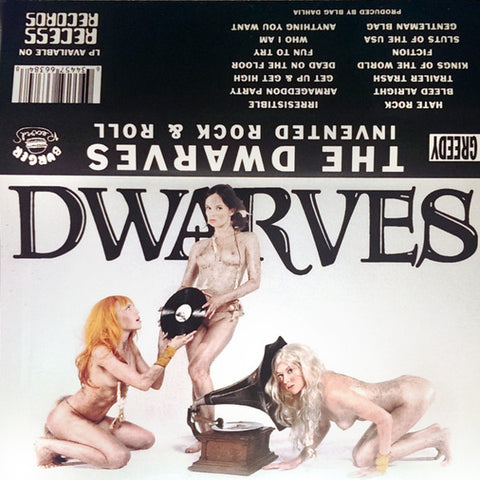 THE DWARVES - invented rock & roll - BRAND NEW CASSETTE TAPE