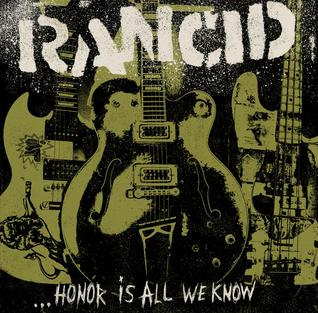 RANCID - honor is all we know - BRAND NEW CASSETTE TAPE
