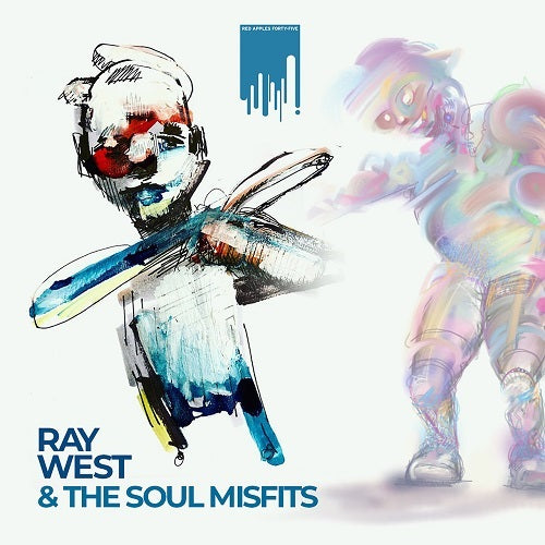 RAY WEST & THE SOUL MISFITS - s/t - BRAND NEW CASSETTE TAPE