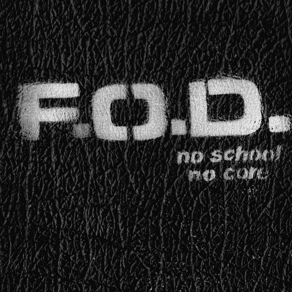 F.O.D. FLAG OF DEMOCRACY - no school, no core - BRAND NEW CASSETTE TAPE
