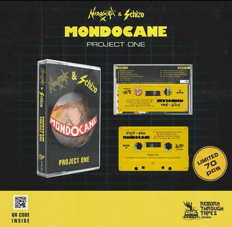 MONDOCANE - project one - BRAND NEW CASSETTE TAPE [pre-order]