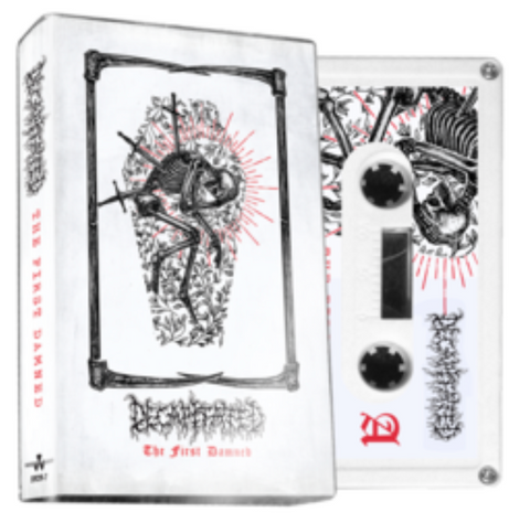 DECAPITATED The First Damned (White Cassette) - BRAND NEW CASSETTE TAPE [pre-order]