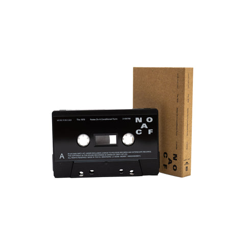 THE 1975 - NOTES ON A CONDITIONAL FORM – RECYCLED PLASTIC - BRAND NEW CASSETTE TAPE