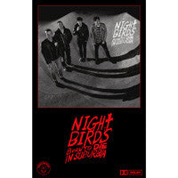 NIGHT BIRDS - born to die in suburbia - BRAND NEW CASSETTE TAPE