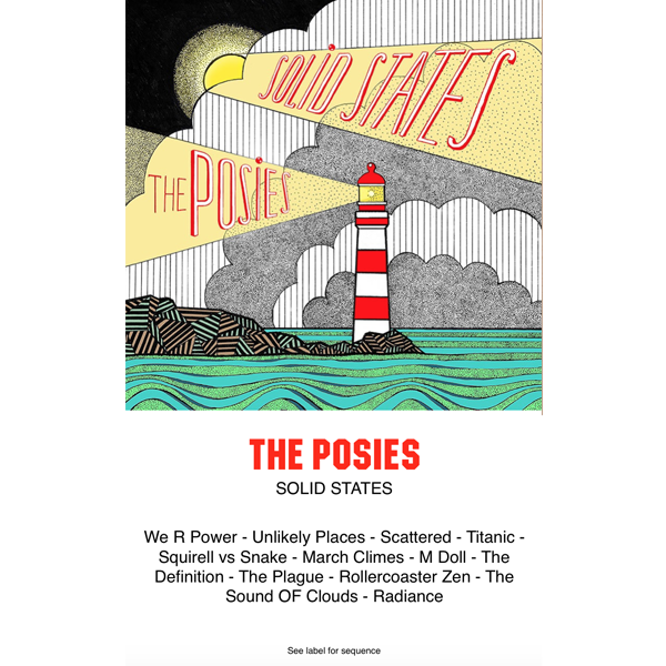 THE POSIES - solid states - BRAND NEW CASSETTE TAPE