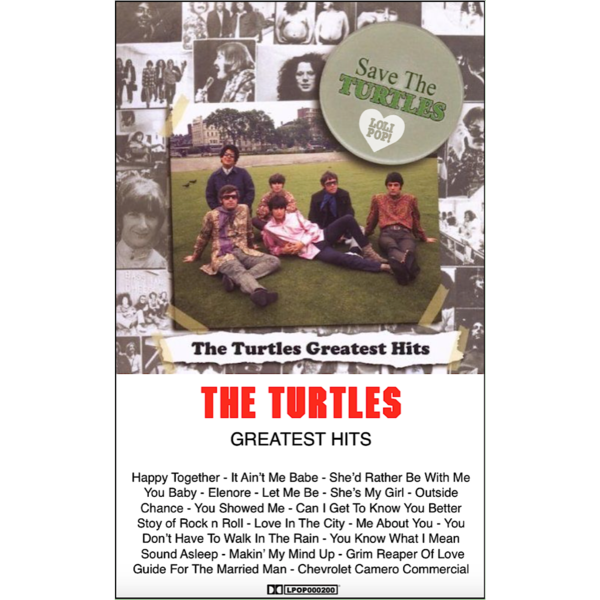THE TURTLES - greatest hits - BRAND NEW CASSETTE TAPE
