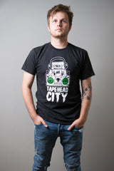 TAPEHEAD CITY - black - mens t-shirt
