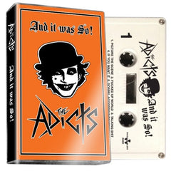 THE ADICTS - and it was so - BRAND NEW CASSETTE TAPE