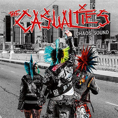 THE CASUALTIES - chaos sound - CASSETTE TAPE