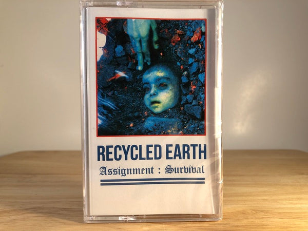 RECYCLED EARTH - assignment: survival - BRAND NEW CASSETTE TAPE
