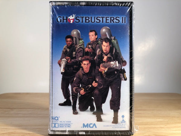 GHOSTBUSTERS 2 - soundtrack - BRAND NEW CASSETTE TAPE