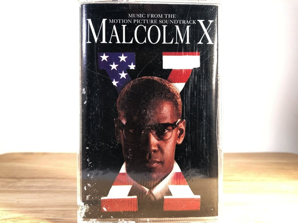 MALCOM X - soundtrack - BRAND NEW CASSETTE TAPE