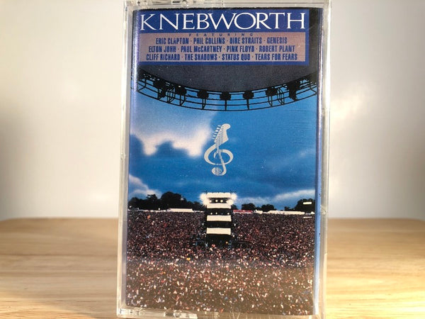 KNEBWORTH - the album [double album - BRAND NEW CASSETTE TAPES