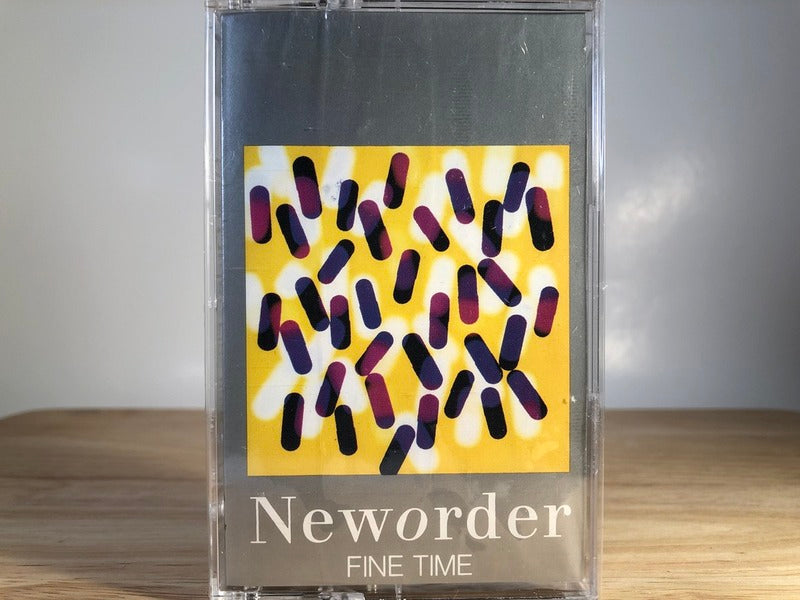 NEW ORDER - fine time [cassingle] - BRAND NEW CASSETTE TAPE