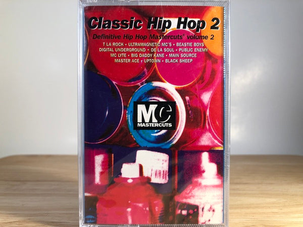 CLASSIC HIPHOP 2 - definitive hiphop master cuts Vol.2 - BRAND NEW CASSETTE TAPE