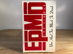 EPMD - you had too much to drink (single) - BRAND NEW CASSETTE TAPE