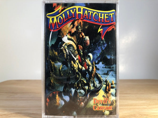 MOLLY HATCHET - devil's canyon - BRAND NEW CASSETTE TAPE