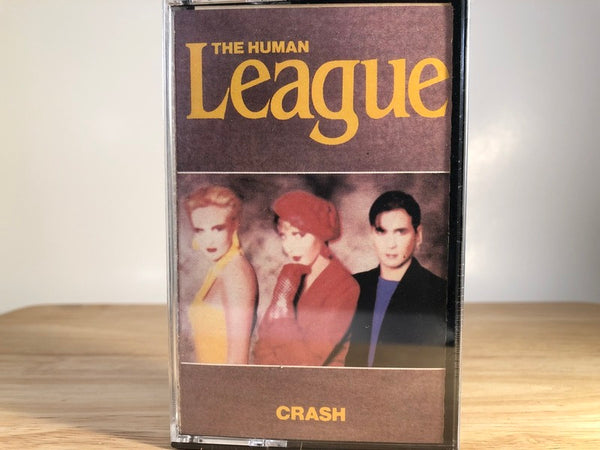THE HUMAN LEAGUE - crash - BRAND NEW CASSETTE TAPE