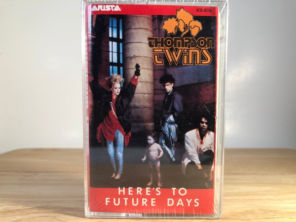 THOMPSIN TWINS - here's to future days - BRAND NEW CASSETTE TAPE