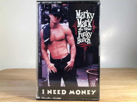 MARKY MARK AND THE FUNKY BUNCH - i need money [cassingle] - BRAND NEW CASSETTE TAPE
