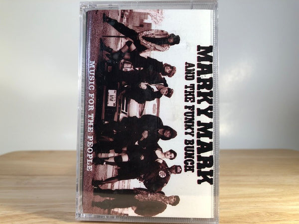 MARKY MARK AND THE FUNKY BUNCH - music for the people - BRAND NEW CASSETTE TAPE