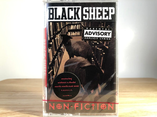 BLACK SHEEP - non-fiction - BRAND NEW CASSETTE TAPE