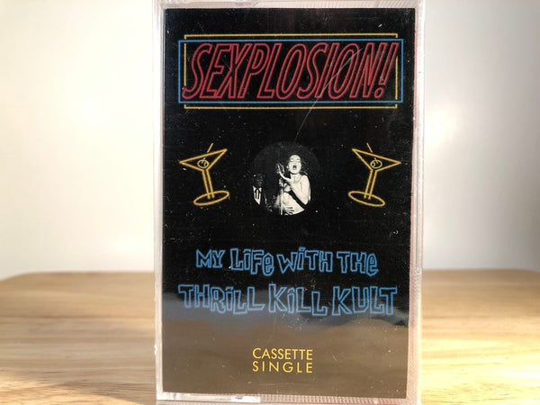 MY LIFE WITH THE THRILL KILL KULT - sexplosion [single] - BRAND NEW CASSETTE TAPE
