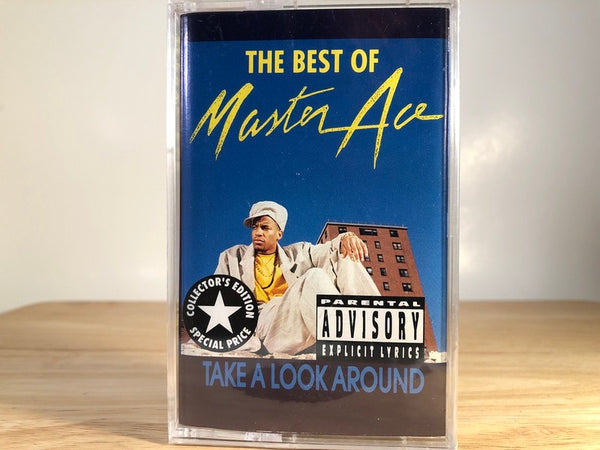 MASTER ACE - Take a look around: The best of [collectors edition] - BRAND NEW CASSETTE TAPE Masta