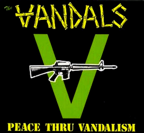 THE VANDALS - peace thru vandalism - BRAND NEW CASSETTE TAPE