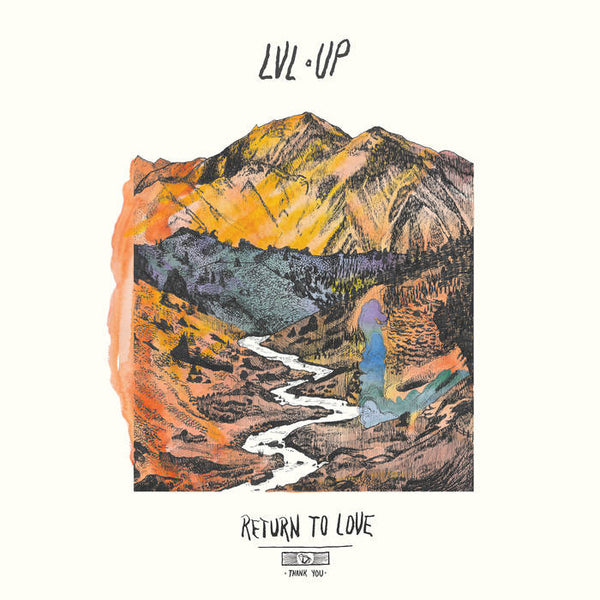 LVL UP - return to love - BRAND NEW SEALED CASSETTE TAPE rock