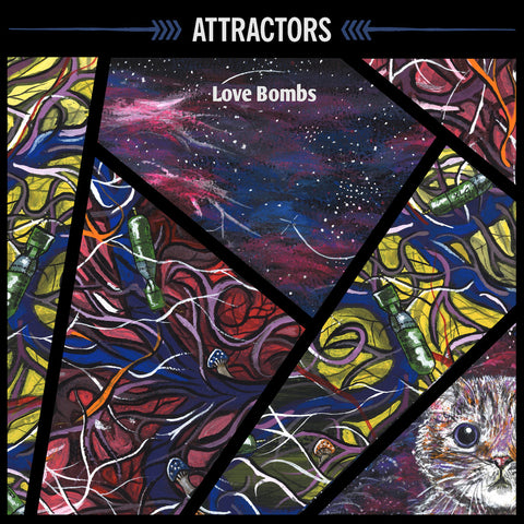 ATTRACTORS - love bombs - BRAND NEW CASSETTE TAPE