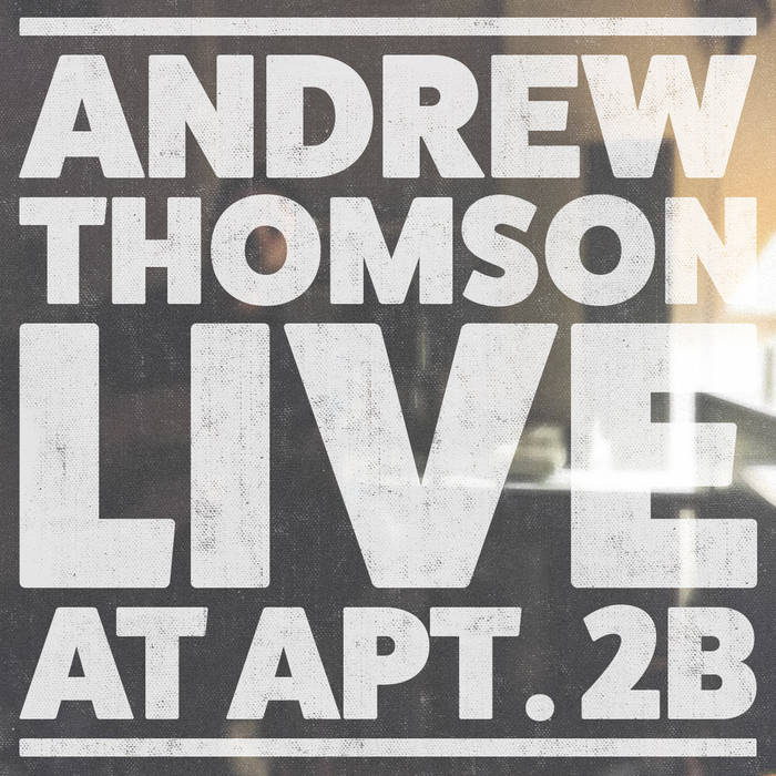 ANDREW THOMSON (single mothers) - Live at Apt 2B - BRAND NEW CASSETTE TAPE