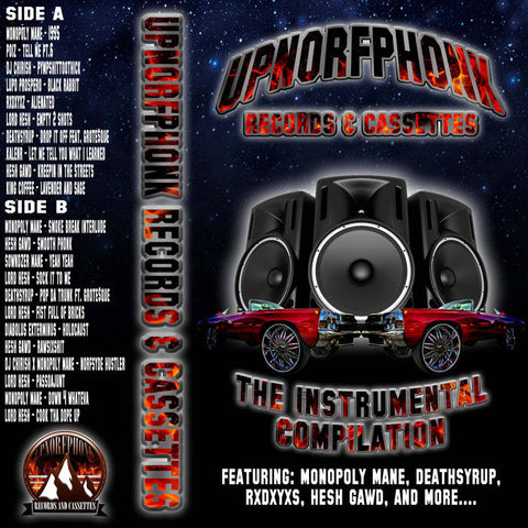 UPNORFPHONK INSTRUMENTAL COMPILATION - Vol.1 - BRAND NEW CASSETTE TAPE