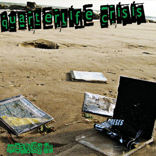 Quarterlife Crisis - Washed Up - Cd (Brand New) Punk Long Island Mother box