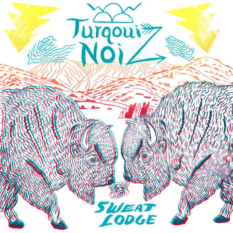 TURQOUIZ - sweat lodge - BRAND NEW CASSETTE TAPE