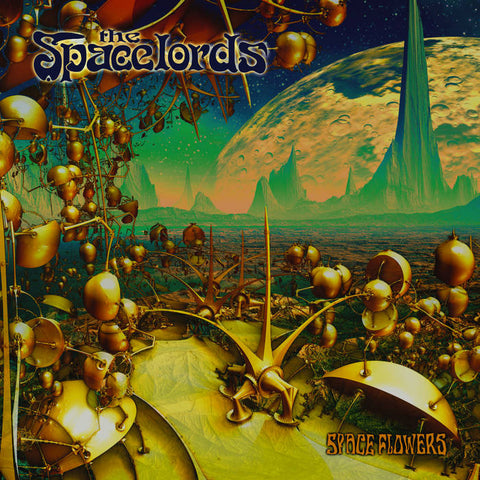 THE SPACELORDS - space flowers - BRAND NEW CASSETTE TAPE