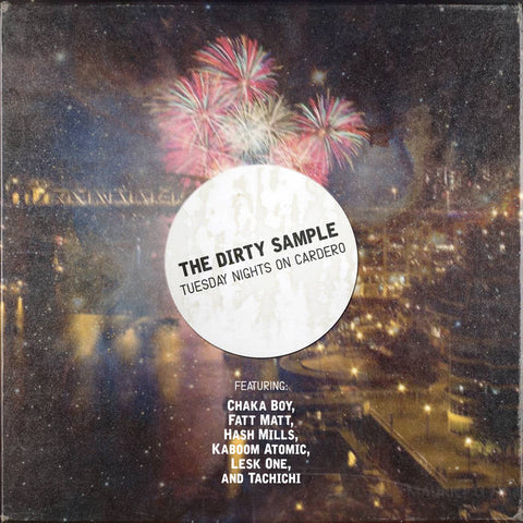 THE DIRTY SAMPLE - tuesday nights on cardero - BRAND NEW CASSETTE TAPE