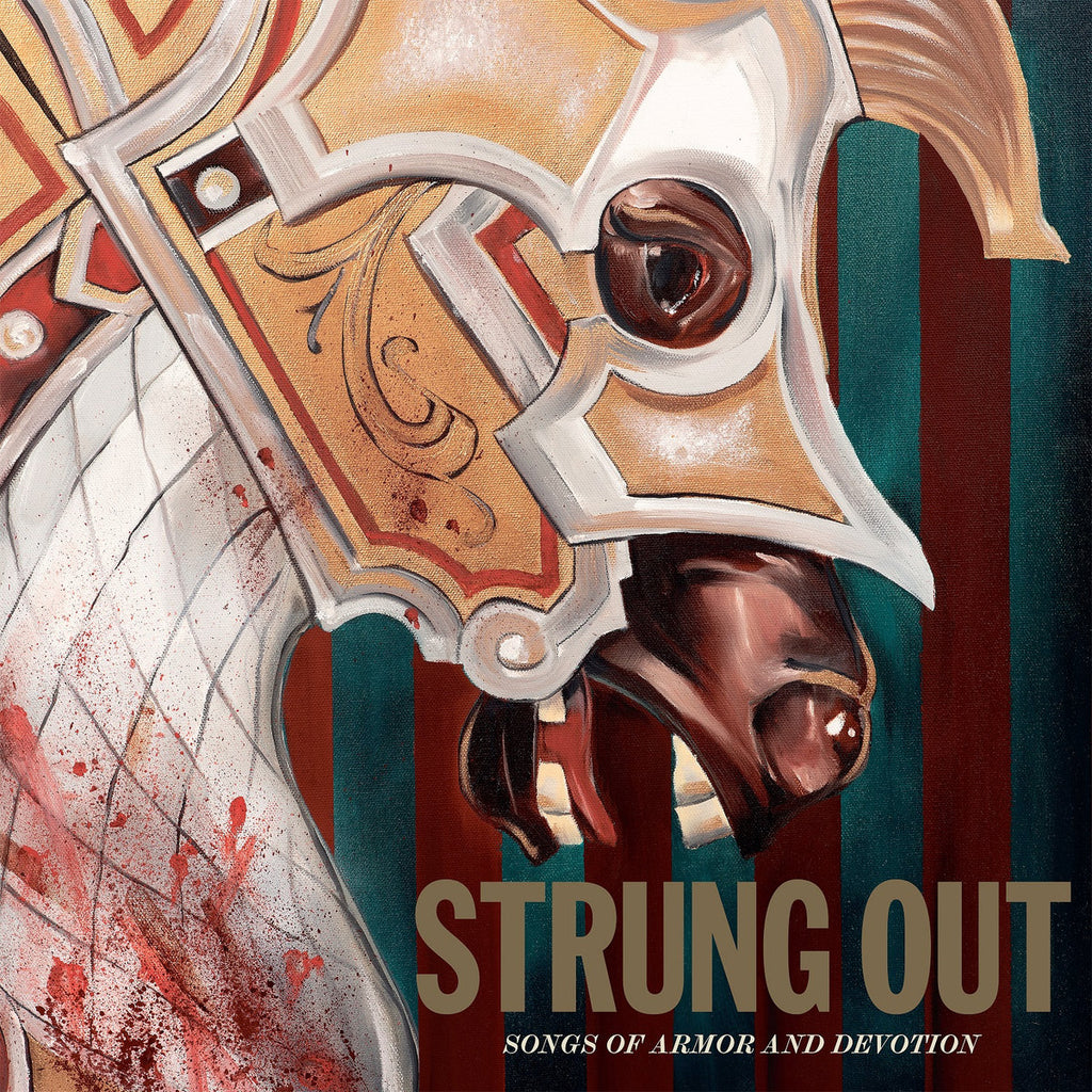 STRUNG OUT - songs of armor and devotion - BRAND NEW CASSETTE TAPE