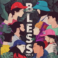 BLESS Vol.3 - various artists - BRAND NEW CASSETTE TAPE